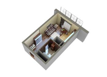 Продажа 1-к квартиры Мамадышский тракт, 36.0 м² (миниатюра №7)