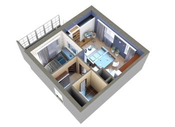 Продажа 2-к квартиры Мамадышский тракт, 45.0 м² (миниатюра №12)