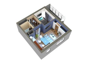 Продажа 2-к квартиры Мамадышский тракт, 45.0 м² (миниатюра №13)