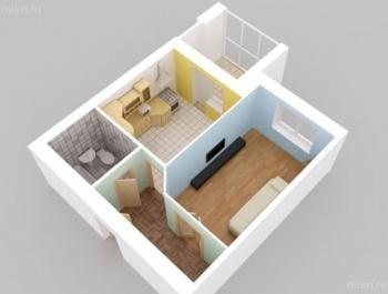 Продажа 1-к квартиры Салиха Батыева 9, 47 м² (миниатюра №1)