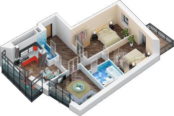 Продажа 3-к квартиры дубравная 28А, 83 м² (миниатюра №4)