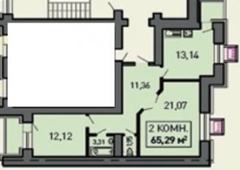 Продажа 2-к квартиры Лукина д. 52, 60.0 м² (миниатюра №6)