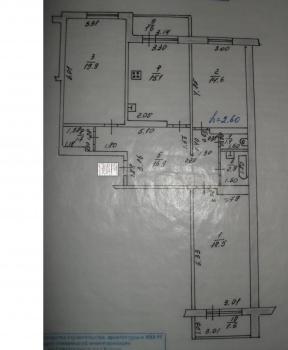 Продажа 3-к квартиры Проспект Победы,78, 94.0 м² (миниатюра №3)