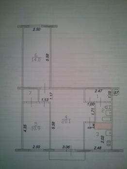 Продажа 3-к квартиры Белинского д.33, 59.0 м² (миниатюра №9)