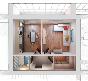 Продажа 1-к квартиры Отрадная,48, 52 м² (миниатюра №3)