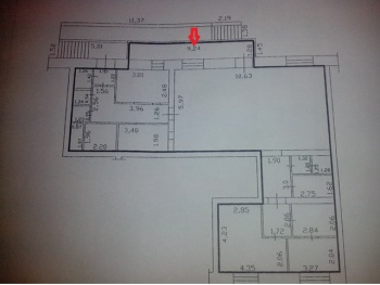 Продажа  помещения свободного назначения пр. Ямашева , 158.0 м² (миниатюра №6)