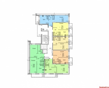 Продажа 1-к квартиры Оренбургский тракт пересечение с ул.Рауиса Гареева
