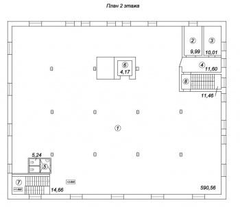 Продажа  склады, производства Восстания 100, 2036.0 м² (миниатюра №14)