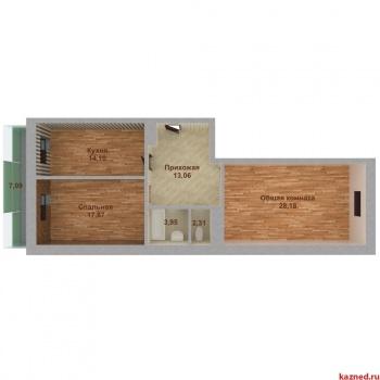Продажа 2-к квартиры Островского 107, 81.8 м² (миниатюра №4)