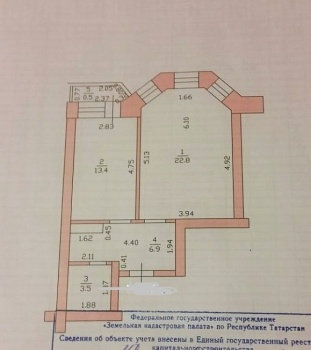 Продажа 1-к квартиры Баки урманче, 8, 47.0 м² (миниатюра №22)