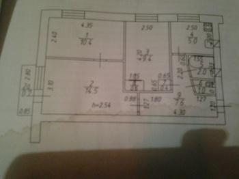 Продажа 3-к квартиры Павлюхина, 122, 51.0 м² (миниатюра №5)