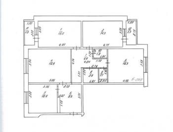 Продажа 4-к квартиры Проспект Победы д.100, 105.0 м² (миниатюра №11)