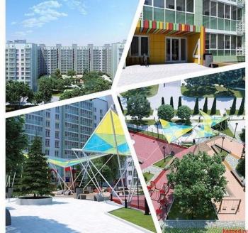 Продажа 3-к квартиры Мамадышский тракт д 1, ЖК Весна, 80.0 м² (миниатюра №1)