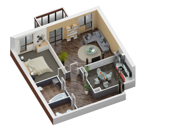 Продажа 2-к квартиры Некрасова 28, 94 м² (миниатюра №6)