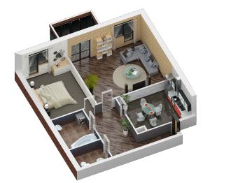 Продажа 2-к квартиры Некрасова 28, 94.4 м² (миниатюра №2)