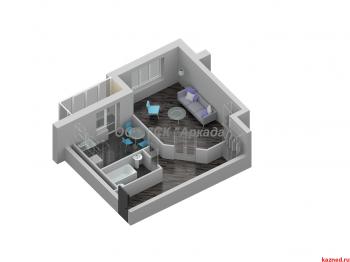 Продажа 1-к квартиры Шуртыгина, д. 7, 50 м² (миниатюра №3)
