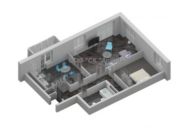 Продажа 3-к квартиры Шуртыгина 7 , 87.6 м² (миниатюра №2)