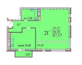 Продажа 3-к квартиры Шуртыгина 7 , 87.6 м² (миниатюра №3)