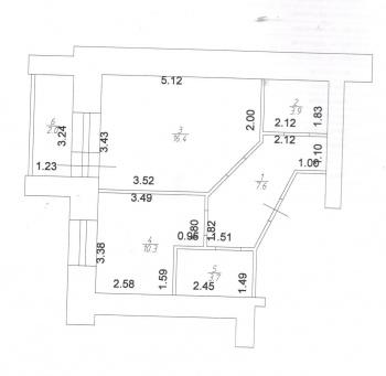 Продажа 1-к квартиры Серова, 51/11, 40 м² (миниатюра №2)
