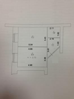 Продажа 1-к квартиры Серова, 51/11, 40 м² (миниатюра №9)