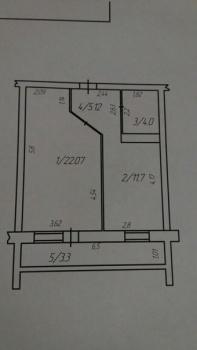 Продажа 1-к квартиры Гаврилова д.56 корп.7, 48.0 м² (миниатюра №1)