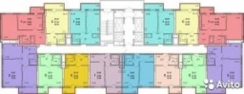 Продажа 1-к квартиры Оренбургский тракт, 38 м² (миниатюра №2)