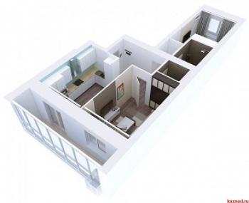 Продажа 2-к квартиры Мамадышский тракт, 3, 54.1 м² (миниатюра №3)