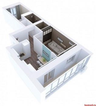 Продажа 2-к квартиры Мамадышский тракт, 3, 54.1 м² (миниатюра №4)