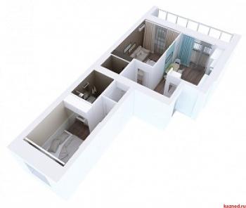 Продажа 2-к квартиры Мамадышский тракт, 3, 54.1 м² (миниатюра №5)