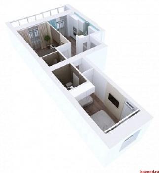 Продажа 2-к квартиры Мамадышский тракт, 3, 54.1 м² (миниатюра №6)