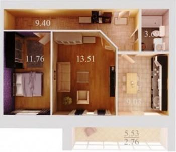 Продажа 2-к квартиры кул гали 36