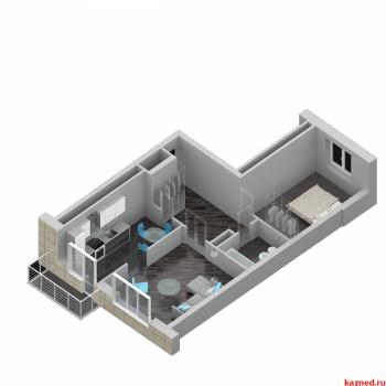 Продажа 2-к квартиры ЖК ИСКРА Шуртыгина д.7, 56 м² (миниатюра №3)