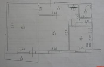 Продажа 2-к квартиры Маршал Чуйкова, 69