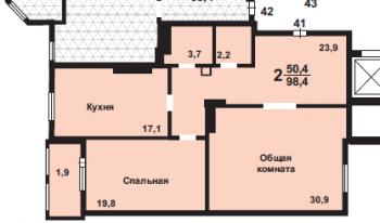 Продажа 2-к квартиры Право-Булачная, 47