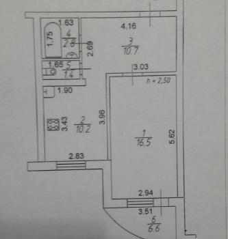 Продажа 1-к квартиры 2-я Азинская, д. 1
