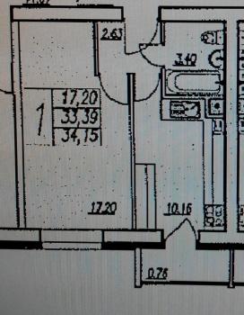 Продажа 2-к квартиры Зорге,49, 57.0 м² (миниатюра №7)