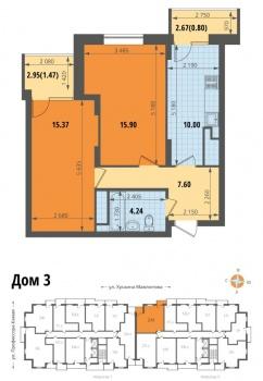 Продажа 2-к квартиры Профессора Камая, стр.3