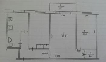 Продажа  комнаты Волгоградская, 9