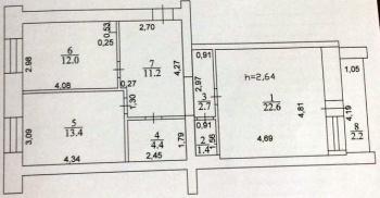 Продажа 2-к квартиры Завойского, 17а, 70.0 м² (миниатюра №14)