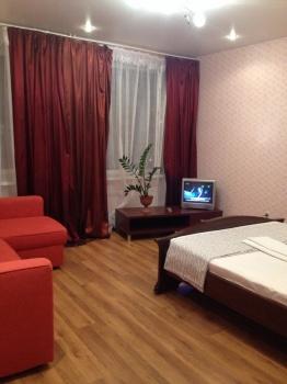 Посуточная аренда 1-к квартиры Сибгата Хакима 41