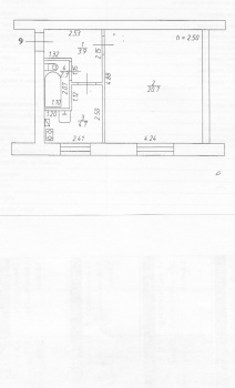 Продажа 1-к квартиры Космонавтов, дом 21