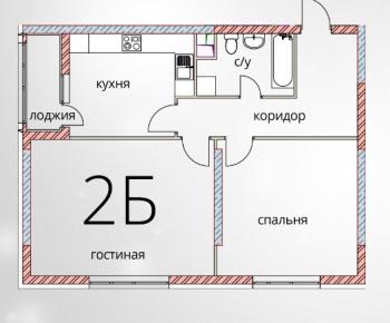 Продажа 2-к квартиры Кул Гали, 7Б