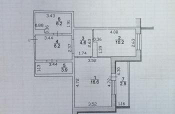 Продажа 1-к квартиры Академика Глушко, д.10