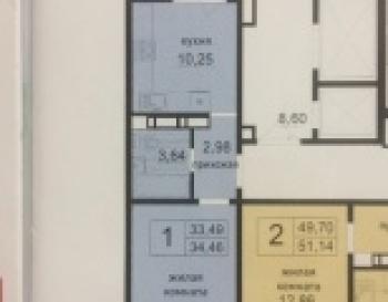 Продажа 1-к квартиры Камалеева,6-24  ЖК 21 век
