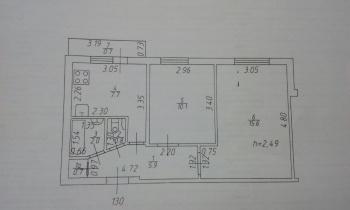 Продажа 2-к квартиры латышских стрелков