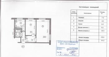 Продажа 2-к квартиры Болотникова, 29А