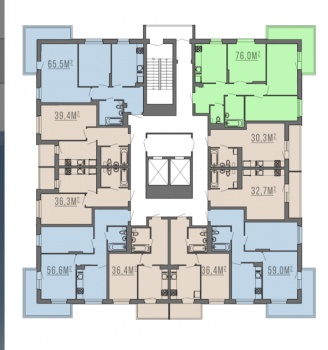 Продажа 2-к квартиры Комисара Габишева дом 10