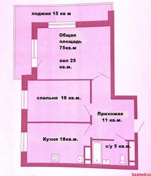 Продажа 1-к квартиры Альберта Камалеева пр-т, 34 ЖК 21 век