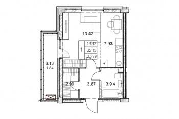 Продажа 1-к квартиры Мамадышский тракт дом  6