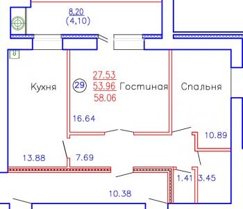 Продажа 2-к квартиры Приволжская, д. 102, корпус 3